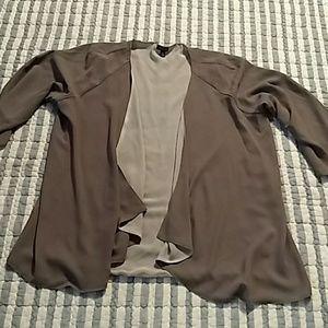 Relativity, light weight, polyester jacket sz XL
